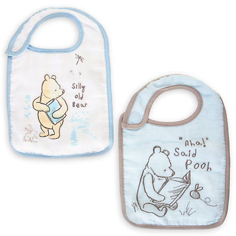 Winnie Puuh - Babylätzchen, 2er-Pack