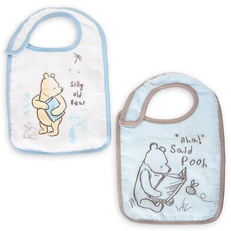 Nalle Puh haklappar för baby (2-pack)