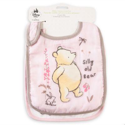 Winnie the Pooh Baby Bib, 2 Pack