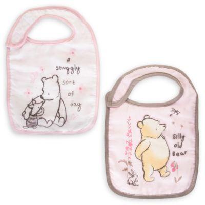 Bavaglini neonato Winnie the Pooh, confezione da 2