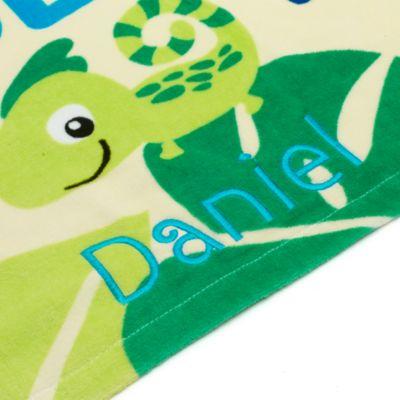 Stitch-babybadehåndklæde