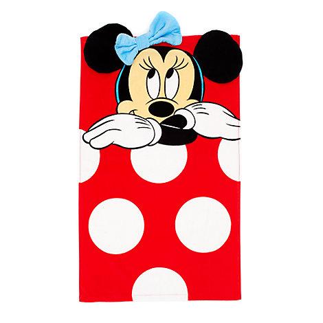 Serviette de bain Minnie Mouse pour bébé