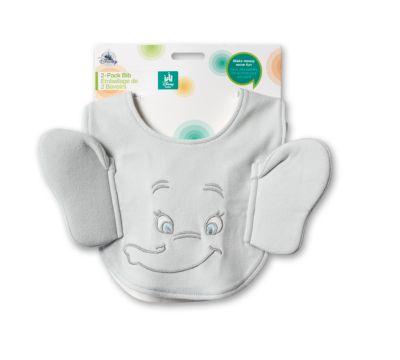 Baberos de Dumbo, paquete de 2