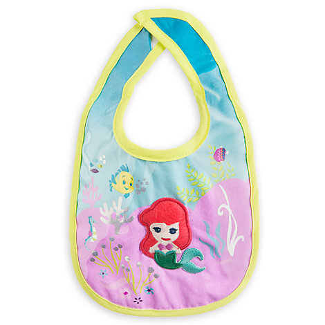The Little Mermaid Baby Bib
