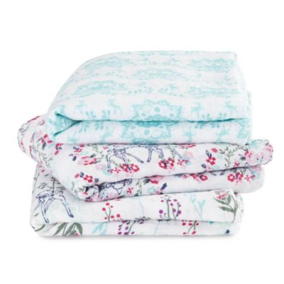 Bambi Aden and Anais Baby Muslins, Set of 3
