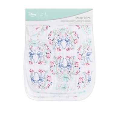 Bambi Aden and Anais Baby Snap Bibs, Set of 3