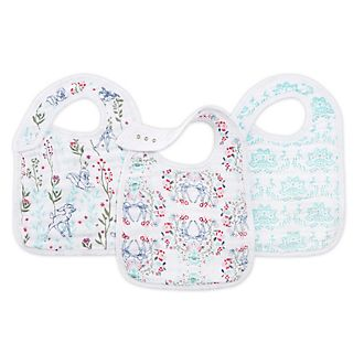 Aden and Anais Bambi Baby Snap Bibs, Set of 3