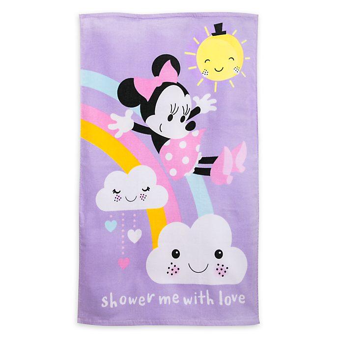 Serviette de bain pour bébé Minnie Mouse