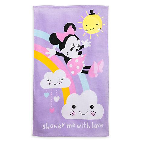 Minnie Maus - Baby-Badehandtuch