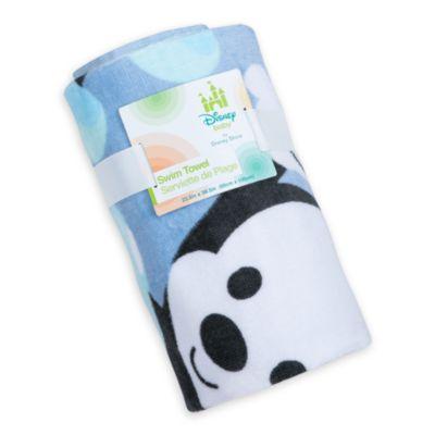 Toalla de baño Mickey Mouse para bebé