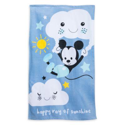 Serviette de bain pour bébé Mickey Mouse