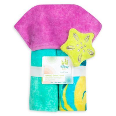 The Little Mermaid Hooded Baby Swim Towel