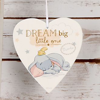 Dumbo Baby Wooden Plaque