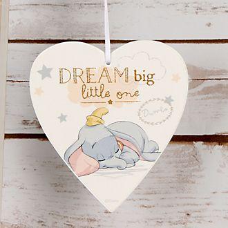 Placa madera Dumbo para bebé
