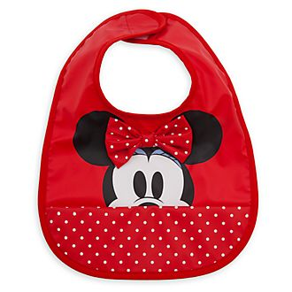 Disney Store Minnie Mouse Baby Bib