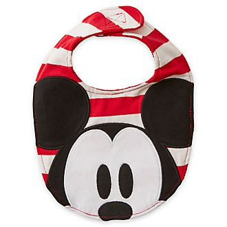 Disney Store Lot de 2 bavoirs Mickey et ses amis pour bébés, Share the Magic