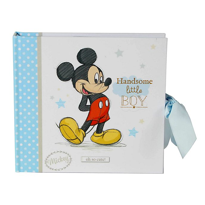 Mickey Mouse Baby Photo Album
