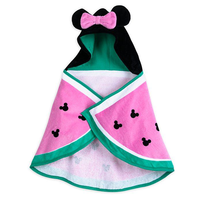 Disney Store Serviette de bain avec capuche Minnie Mouse pour bébé