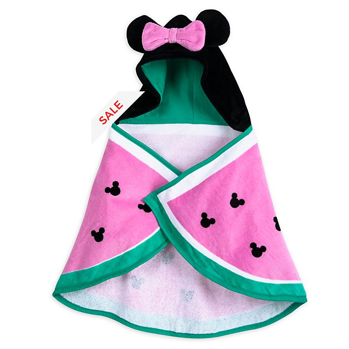 Disney Store Minnie Mouse Baby Hooded Swim Towel