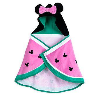 Toalla de baño con capucha Minnie Mouse para bebé, Disney Store