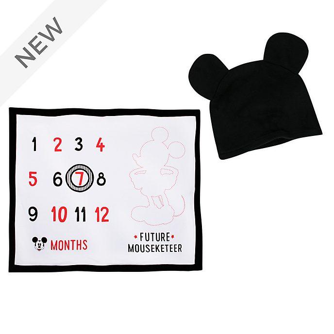 Disney Store Mickey Mouse Baby Milestone Blanket
