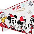 Conjunto manta y gorro de bebé para fotos, Mickey y sus amigos, Holiday Cheer, Disney Store