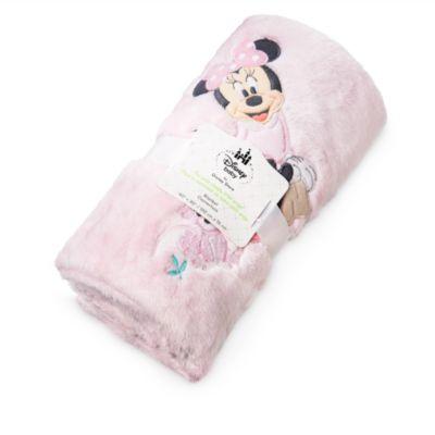 Manta rosa Minnie Bebés
