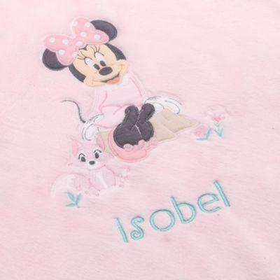 Couverture rose Minnie Mouse Layette pour bébé
