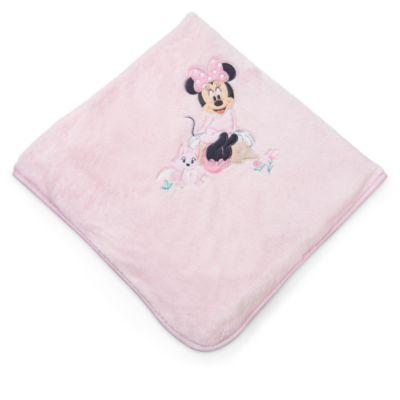Minnie Maus Babyausstattung - Babydecke pinkfarben