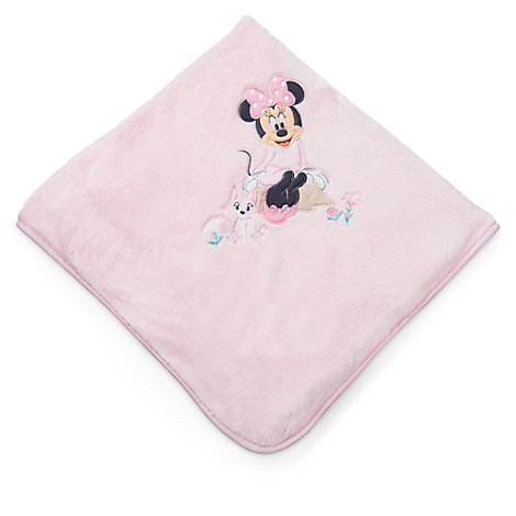 Copertina neonato rosa corredino Minni