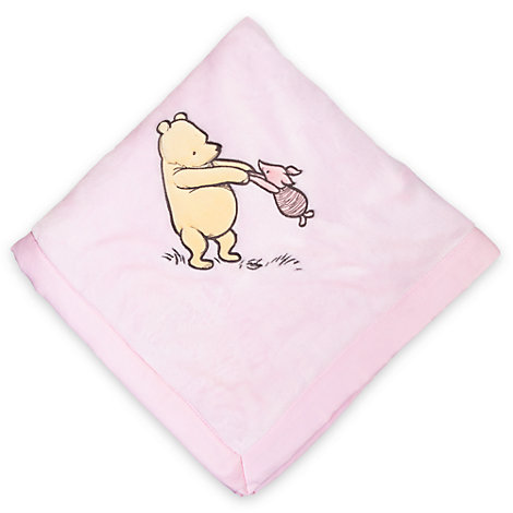 Winnie the Pooh Layette Baby Blanket