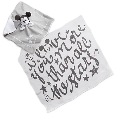 Mickey Mouse Baby Swaddle Gift Set