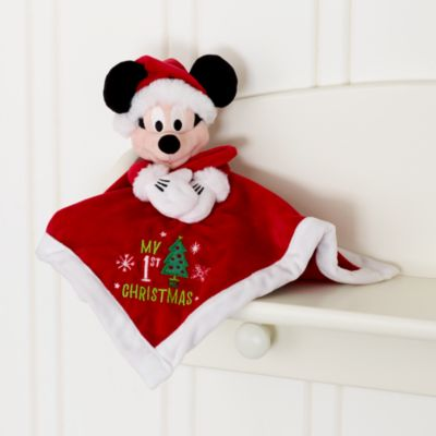 Mickey and Minnie Mouse Personalised Christmas Baby Gift Set