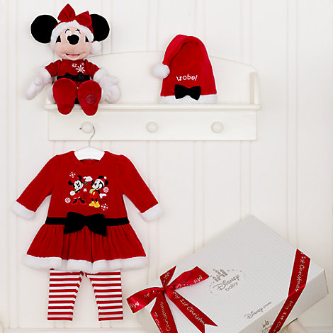 Minnie Mouse Personalised Christmas Baby Gift Set