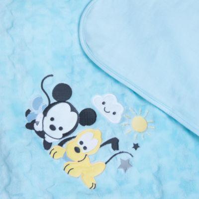 Manta para bebé Mickey Mouse