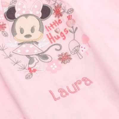Canastilla de bebé personalizada de Minnie