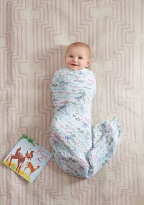 Bambi Aden and Anais Baby Swaddles, Set of 4