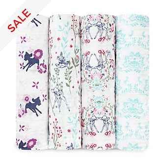 Aden and Anais Bambi Baby Swaddles, Set of 4
