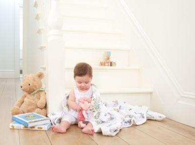Mantita para dormir de Winnie the Pooh de Aden + Anais para bebé