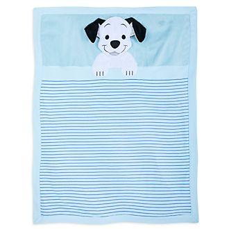 Disney Store 101 Dalmatians Blue Baby Blanket