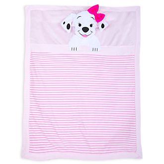 Disney Store - 101 Dalmatiner - Babydecke in Pink
