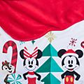 Disney Store Mickey and Friends Christmas Baby Blanket and Hat Photo Set