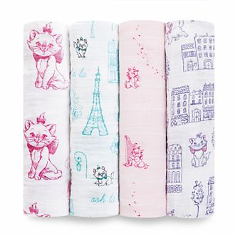 Aden and Anais Marie Baby Swaddles, Set of 4
