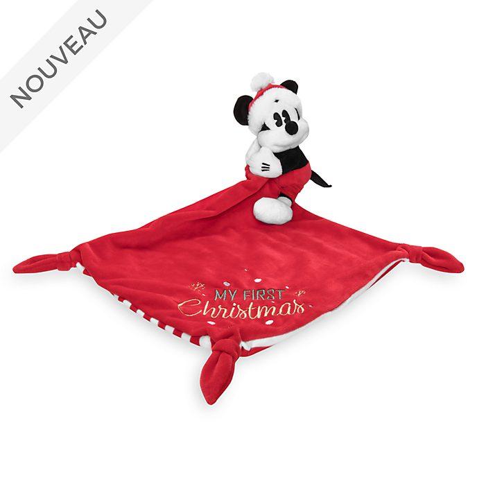 Disney Store Doudou-peluche Mickey pour bébés, Holiday Cheer