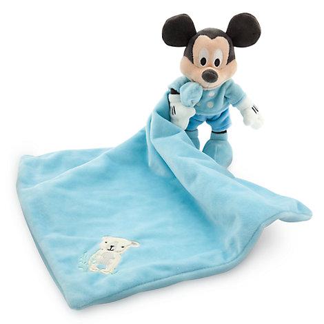 Micky Maus Babyausstattung - Schmusetuch für Babys