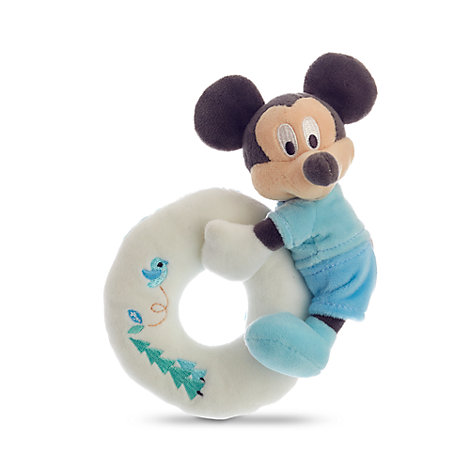 Mickey Mouse Layette Baby Rattle