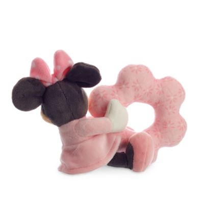Minnie Mouse Layette Baby Rattle