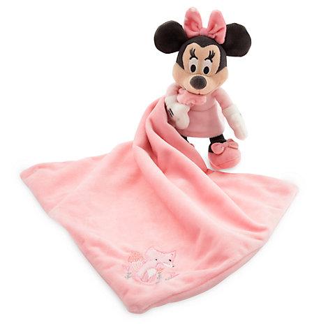 Minnie Maus Babyausstattung - Schmusetuch für Babys