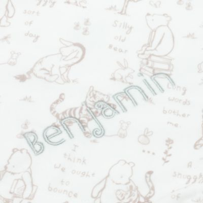 Winnie the Pooh Layette Baby Comforter
