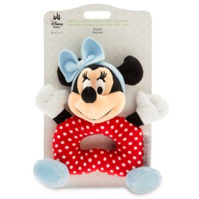 Minnie Maus – Rassel für Babys